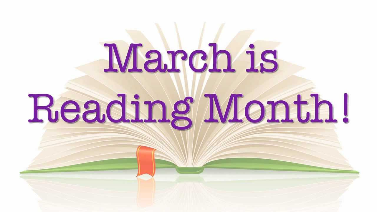 March is Reading Month Logo